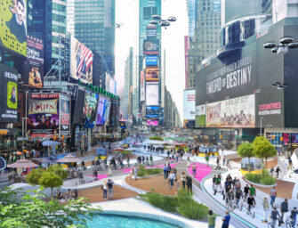 Will Times Square look <br>like this in three years?