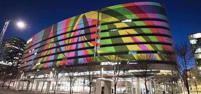 UQAM : 50 ans d'audace, une projection architecturale de HUB Studio © Nathalie St-Pierre – WestmountMag.ca