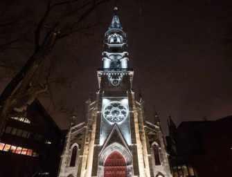 Le clocher de l'UQÀM, <br>un joyau mis en valeur