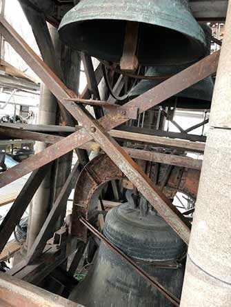 Restauration du clocher Saint-Jacques du pavillon Judith-Jasmin de l'UQÀM – WestmountMag.ca
