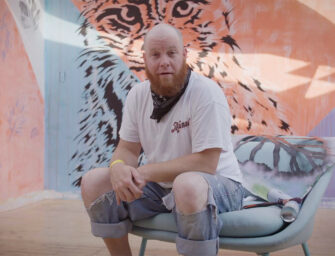 The fascinating world <br>of urban art with Jamie