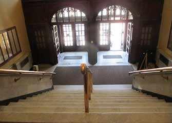 Victoria Hall main entrance way - WestmountMag.ca