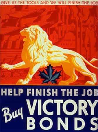 Victory Bonds poster - WestmountMag.ca
