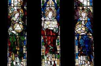 Westmount Park Church stained glass - WestmountMag.ca