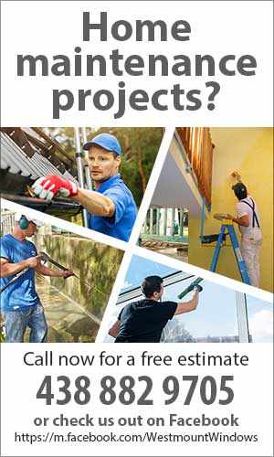 Westmount Windows – Home maintenance projects